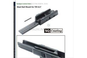 Guarder Steel Rail Mount for TM G17