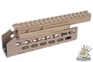 Hephaestus AK Keymod Handguard for AEG / GBB - Dark Earth