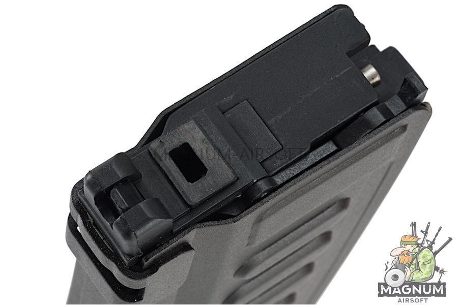 Hephaestus Custom 30 rds Gas Magazine (Compact Type) for HTS-14 / GHK AK Series - Black