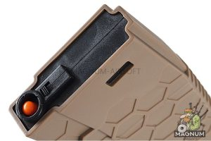 HEXMAG 120rds Magazines for M4 AEG Series (5pcs / Pack) - FDE