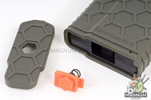 HEXMAG 120rds Magazine for Systema PTW M4 - Olive Drab