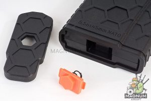 HEXMAG 120rds Magazine for Systema PTW M4 (5pcs / pack) - Black
