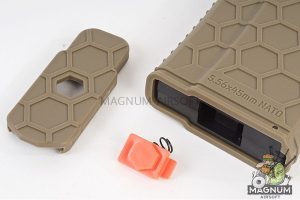 HEXMAG 120rds Magazine for Systema PTW M4 (5pcs / pack) - Flat Dark Earth