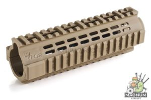 IMI Defense PCQ Polymer Carbine Quadrail for M4 / M16 Series - TAN