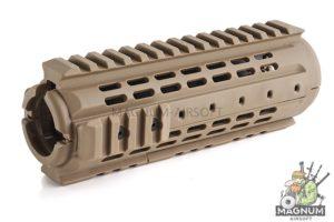 IMI Defense MRS-C Polymer Modular Rail System Carbine Length for M4 / M16 Series - TAN