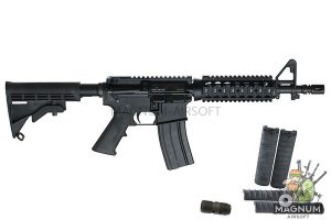 Inokatsu COLT M4 CQBR Gas Blowback Rifle w/ FREE MAGAZINE (SUPER VERSION)