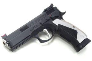 KJ CZ75 SP-01 ACCU Custom Gas Blowback (Black)