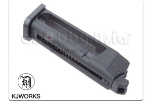 KJ WORKS 23RD MAGAZINE FOR KP-17 GBB PISTOL (CO2 VERSION)