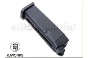 KJ WORKS 23RD MAGAZINE FOR KP-17 GBB PISTOL (GAS VERSION)
