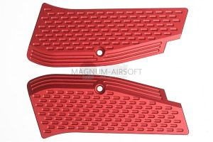 KJ Works Aluminium Hand Grip for CZ SP-01 Shadow - Red