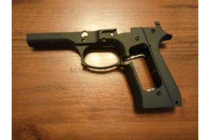 KJW Betretta m9 part# 2 FRAME(METAL)