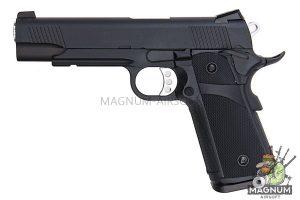 KJ Works KP-05 HI-CAPA Black (Full Metal, Gas and CO2) (BLACK)