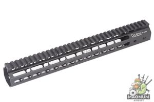 ARES Octarms 13.5 Inch Tactical Keymod System Handguard Set (Black)