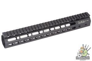 ARES Octarms 12 Inch Tactical Keymod System Handguard Set (Black)