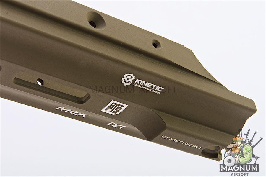 PTS Kinetic SCAR MREX M-LOK 4.9 inch for SCAR Series  - Dark Earth