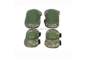 Комплект наколенники и налокотники ACU WS20153ACU AS-PG0022ACU