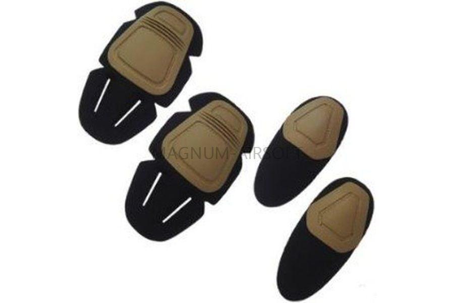 КОМПЛЕКТ НАКОЛЕННИКИ И НАЛОКОТНИКИ Upgrade Version Combat Uniform для вставки в одежду AS-PG0025B