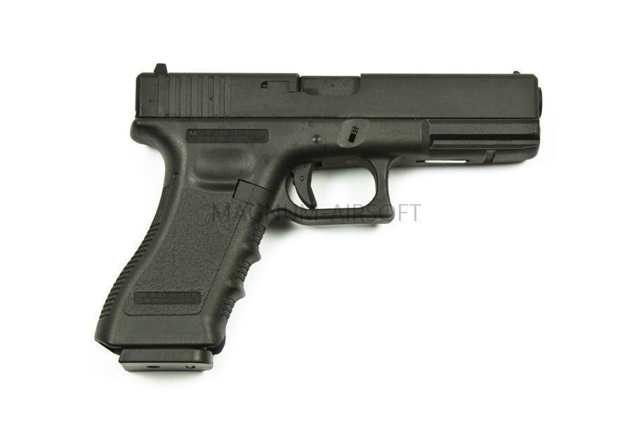 KP 17 MS BK 1 900x600 - Пистолет KJW GLOCK G17 GBB GAS - KP-17-MS-BK