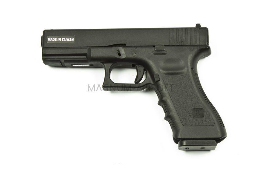 KP 17 MS BK 2 900x600 - Пистолет KJW GLOCK G17 GBB GAS - KP-17-MS-BK