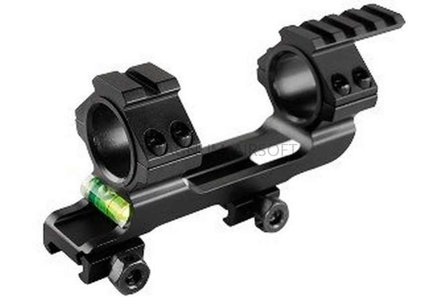 КРОНШТЕЙН МОНОБЛОК с уровнем 25.4/30mm на RIS AS-OR0149