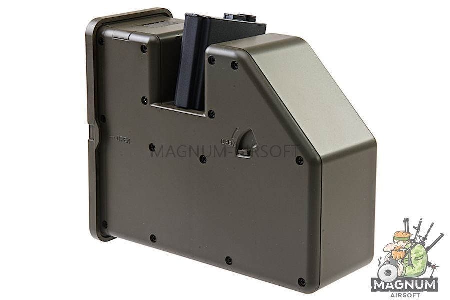 KRYTAC LMG Drum Magazine 3500rds for LMG / M4 AEG Series