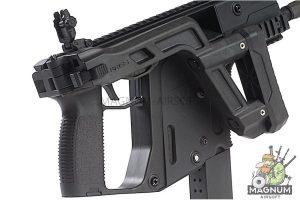KRYTAC KRISS Vector AEG SMG Rifle w/ Mock Suppressor - Black