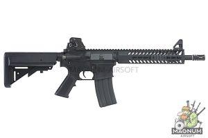 KWA Full Metal KM4 KR9 AEG Rifle w/ 9 inch Keymod Handguard