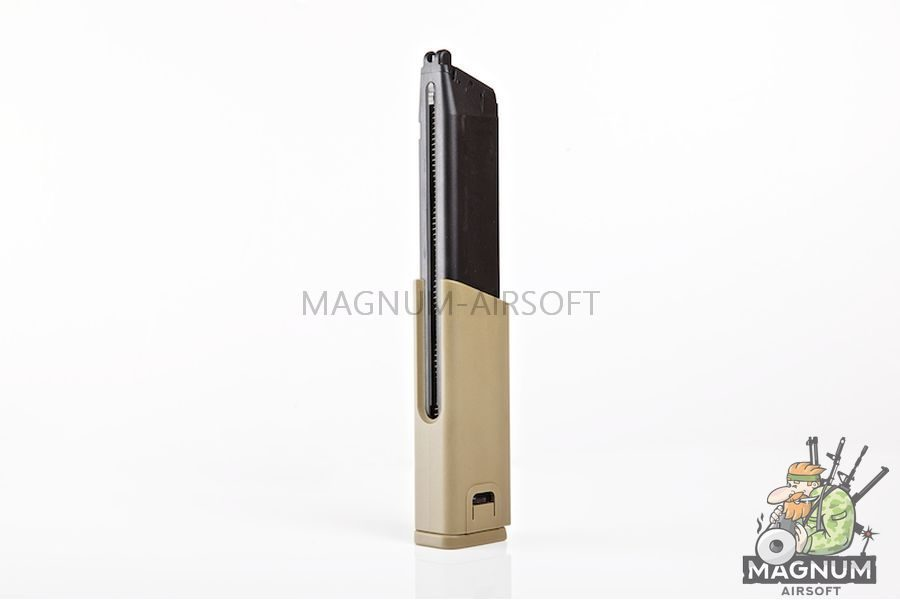 KWA 49rds Extended Magazines for KWA Kriss Vector - TAN