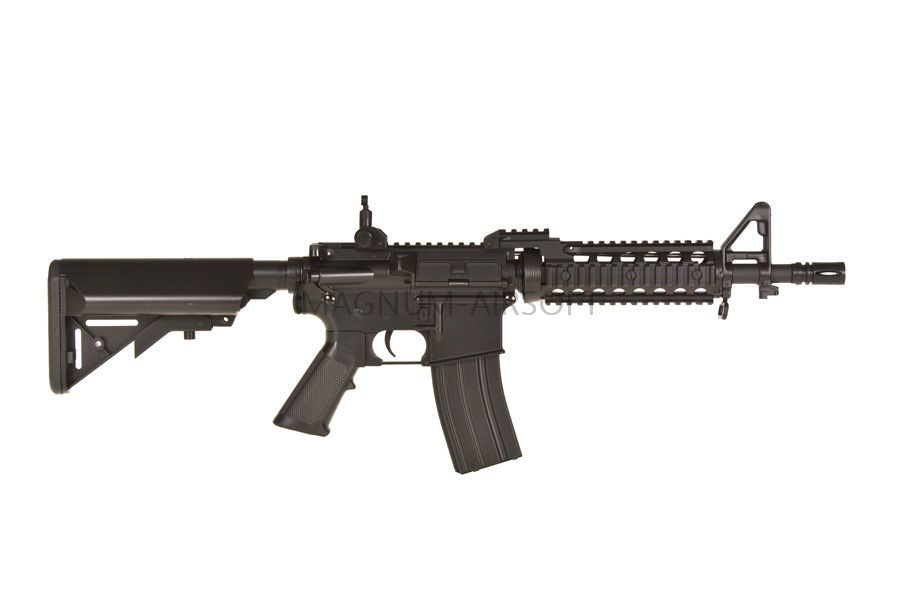 Karabin Cyma M4 RAS II short ABS CM505 1 900x600 - Автомат Cyma CM505 M4 RAS II short пластик