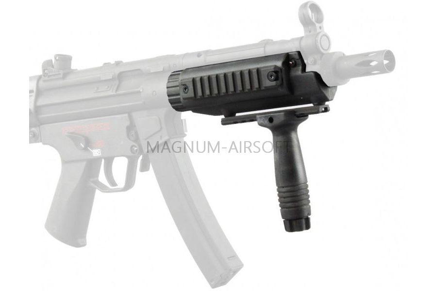 Komplekt TSEVE RIS MP5 taktitcheskaya rukoyatka CYMA C.43 900x600 - Рис цевье C43 MP5 (Cyma)
