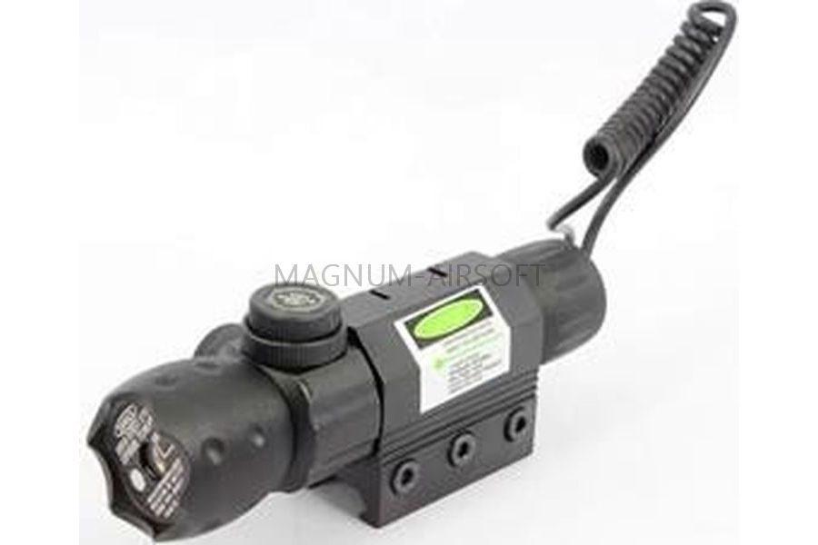 ЛАЗЕРНЫЙ ЦЕЛЕУКАЗАТЕЛЬ Green Laser Tactical на RIS AS-LA0023