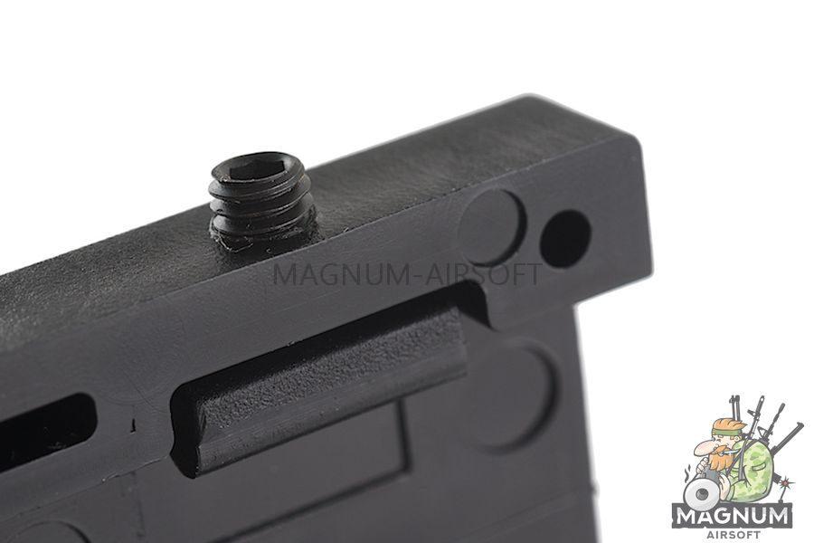Custom Gun Rails (CGR) Aluminum Rail Cover (USAR, Large Laser Engraved Aluminum) - BK Retainer