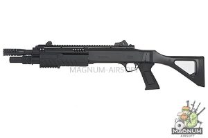 BO Manufacture FABARM Licensed STF12 11 inch Compact Spring Shotgun - Black