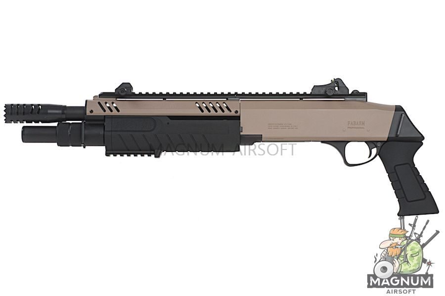BO Manufacture FABARM Licensed STF12 11 inch Short Spring Shotgun - FDE