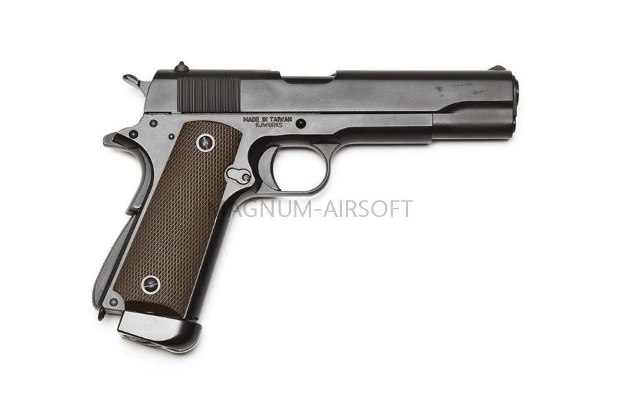 M1911A1 CO2 1 1 900x600 - Пистолет KJW COLT M1911A1 GBB, СО2 - 1911.CO2 Black
