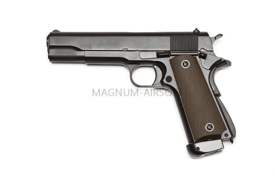 M1911A1 CO2 2 1 900x600 - Пистолет KJW COLT M1911A1 GBB, СО2 - 1911.CO2 Black