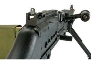 ПУЛЕМЕТ М240 AEG, металл, пластик, короб M240