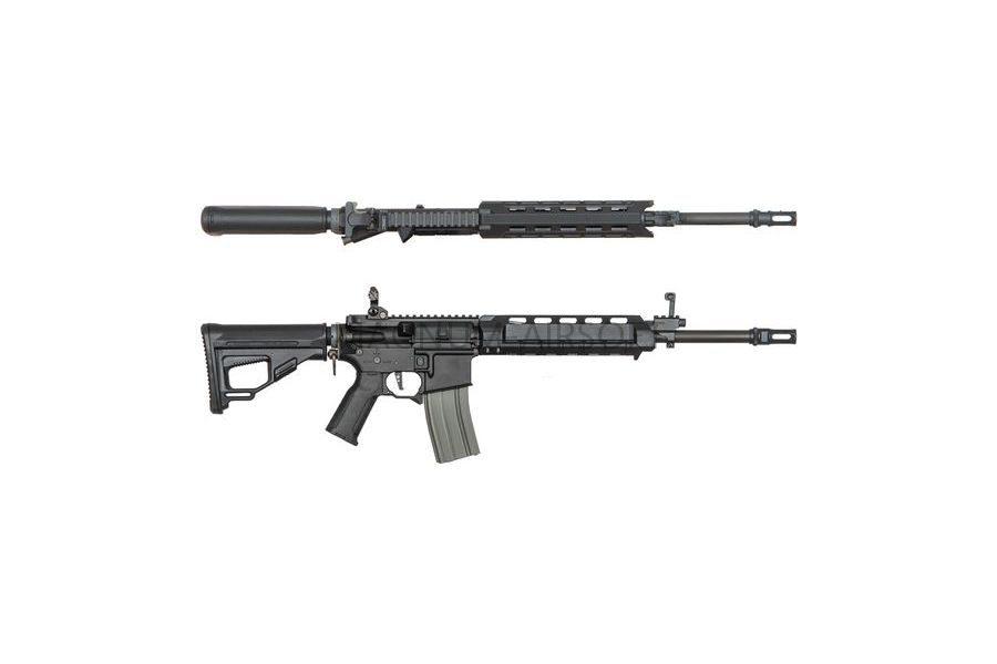 Страйкбольный автомат (ARES) Amoeba M4-AA Assault Middle Long (M4-AMML-BK) Black