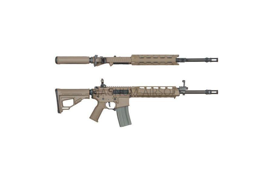 Страйкбольный автомат (ARES) Amoeba M4-AA Assault Middle Long (M4-AMML-DE) Tan