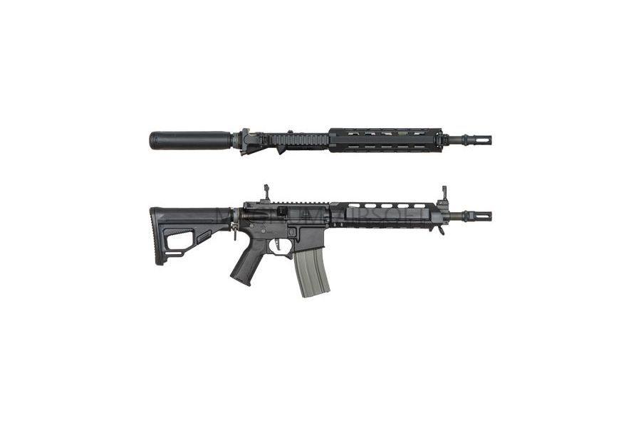 Страйкбольный автомат (ARES) Amoeba M4-AA Assault Middle Short (M4-AMMS-BK) Black