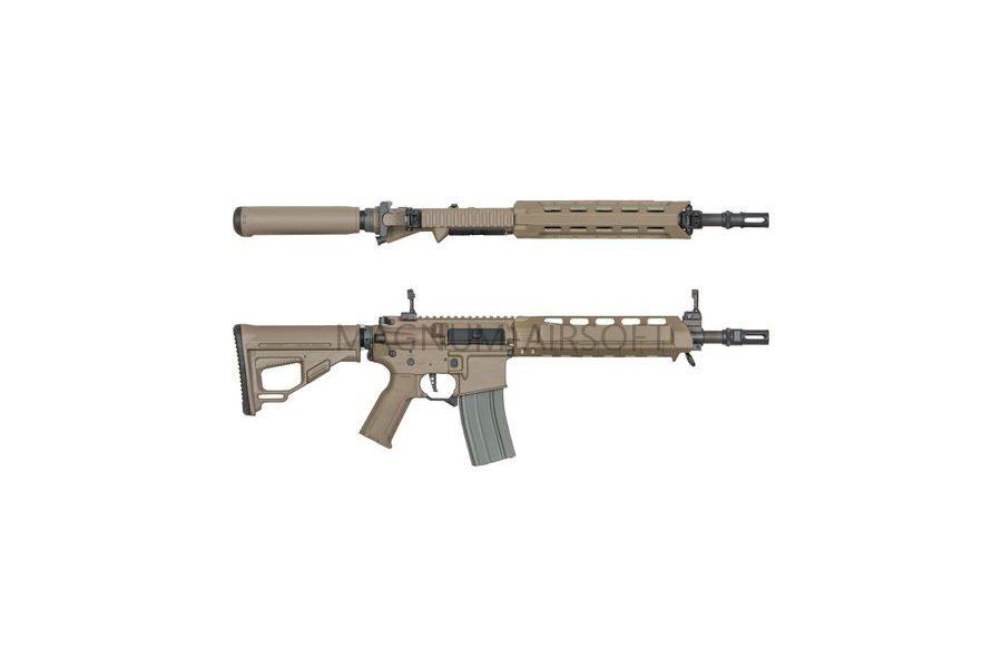 Страйкбольный автомат (ARES) Amoeba M4-AA Assault Middle Short (M4-AMMS-DE) Tan