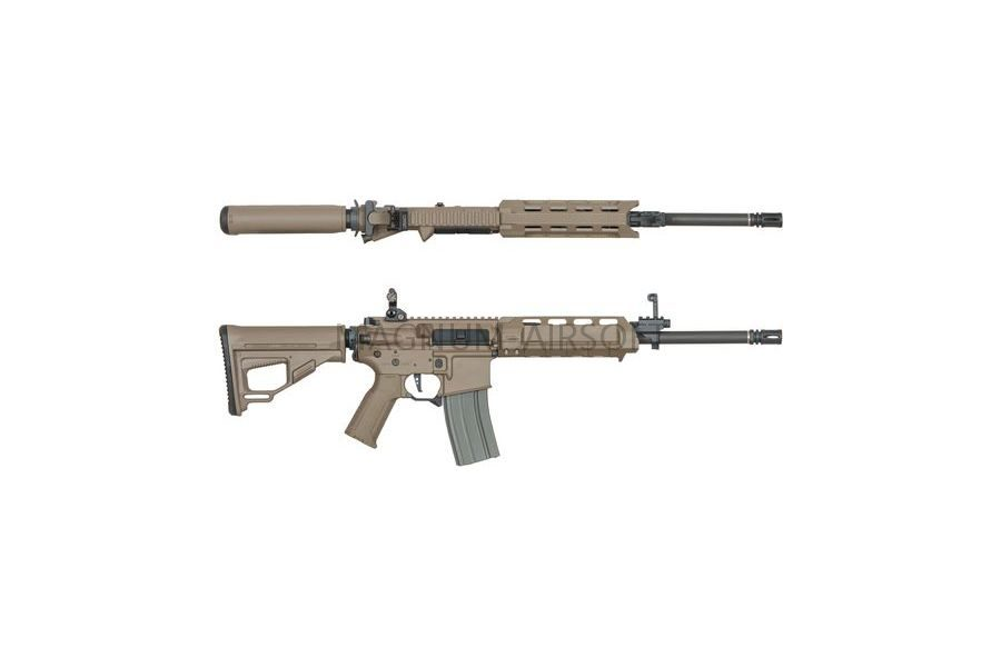 Страйкбольный автомат (ARES) Amoeba M4-AA Assault Short-Long (M4-AMSL-DE) Tan