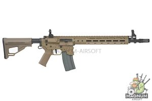 EMG Sharps Bros 'Jack' Licensed Full Metal M4 AEG 15 inch Carbine - DE (by ARES)