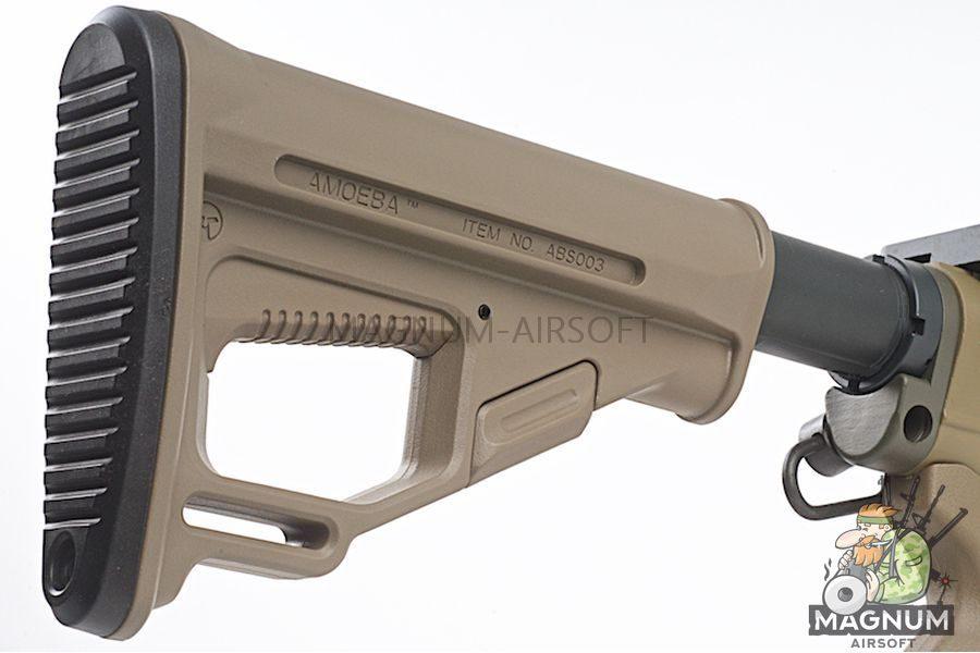 EMG Sharps Bros 'Jack' Licensed Full Metal M4 AEG 10 inch SBR - DE (by ARES)