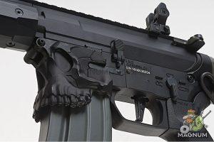EMG Sharps Bros 'Jack' Licensed Full Metal M4 AEG 7 inch SBR - Black (by ARES)