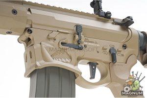 EMG Sharps Bros 'Warthog' Licensed Full Metal Advanced AEG Rifle - 10 inch SBR DE (by ARES)