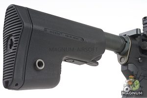 EMG Sharps Bros 'Warthog' Licensed Full Metal Advanced AEG Rifle - 7 inch SBR Black (by ARES)