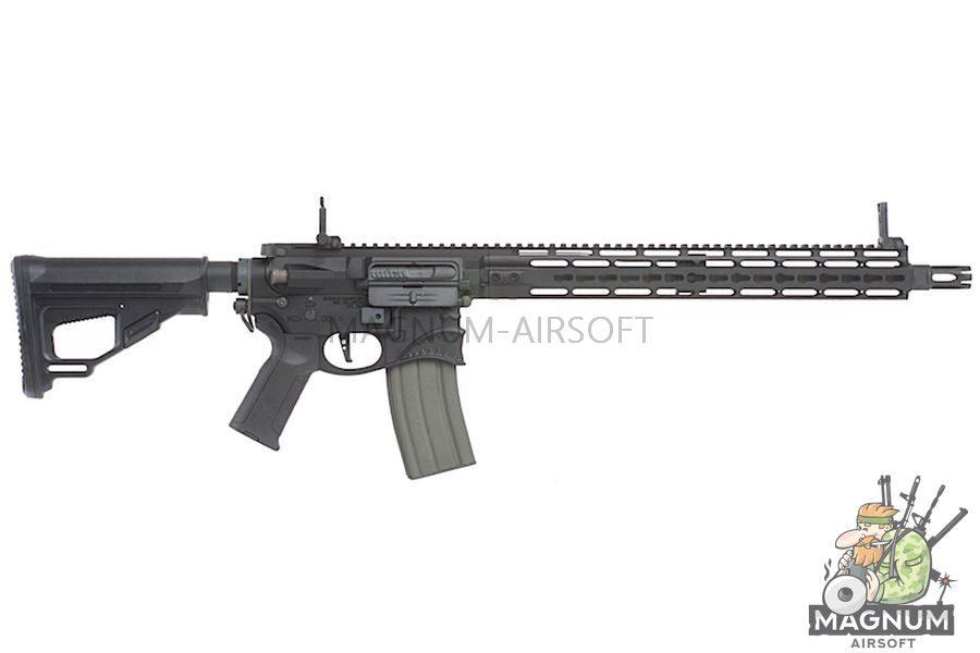 EMG 'Hellbreaker' M4 SBR  Full Metal 15Inch M4 (Sharps Bros Licensed) - Black (by ARES)
