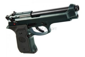 Пистолет KJW M9 A1 GBB, GAS, металл, рельса, модель - M9A1.GAS Grey