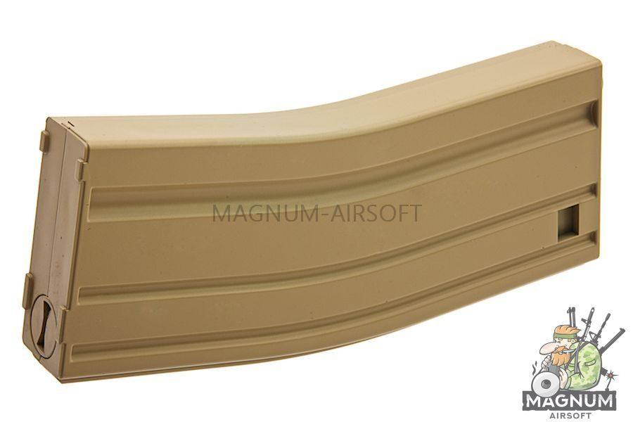 MAG M16 130rds Plastic Magazine Box Set (8 Pack) (SAND)